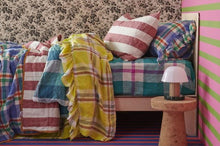 Load image into Gallery viewer, Society of Wanderers - Sangria Stripe Standard Pillowcase Set - Mandi at Home