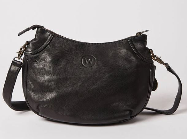 Santorini Crossbody- Black - Mandi at Home