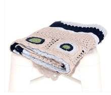 Load image into Gallery viewer, Sky Blue Hand Crochet Blanket - Mandi at Home