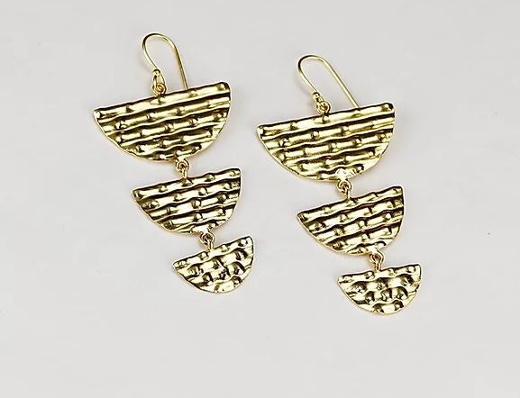 Finders and Makers - Spirited Incanto Earring - Gold Plated - Mandi at Home