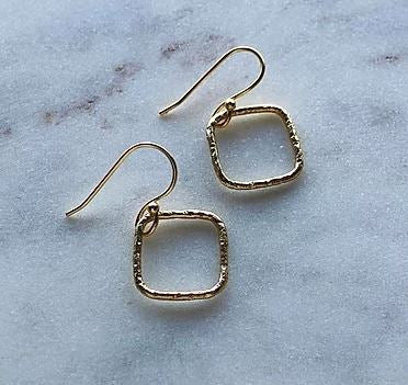 Finders and Makers - Spirited Little Rania Earring - Gold Plated - Mandi at Home