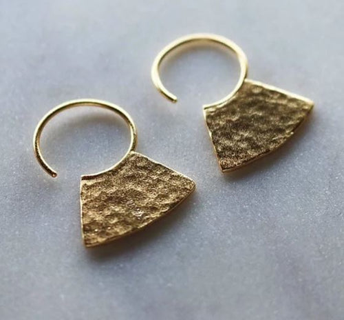 Finders and Makers - Spirited Flare Earrings - Mandi at Home