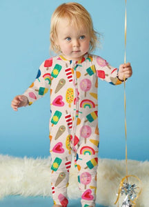 Sweet Dreams- Long Sleeve Zip Suit - Mandi at Home