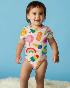 Sweet Dreams - Short Sleeve Body Suit - Mandi at Home
