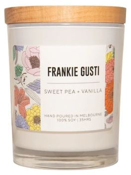 Signature Frankie - Sweet Pea & Vanilla - Small - Mandi at Home