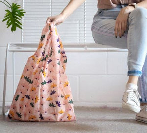 Sweet Daisy Reusable Shopping Bag - Blushing Confetti - Mandi at Home