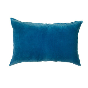 Sabine Velvet Pillowcase - Azure - Mandi at Home