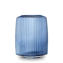 Load image into Gallery viewer, Pleat Vase Ink Blue XL - Mandi at Home