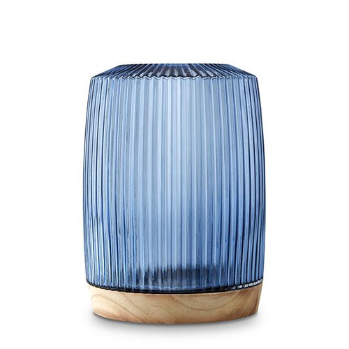 Pleat Vase Ink Blue XL - Mandi at Home
