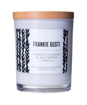 Signature Frankie - Tobacco Flower, Black Pepper & Vanilla - Large - Mandi at Home