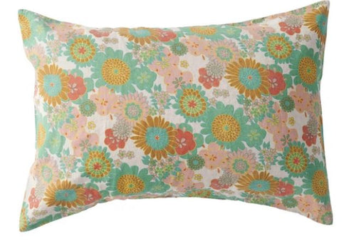 Society of Wanderers - Wanda Floral Standard Pillowcase Set