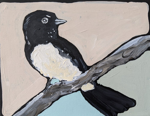 Willy Wagtail - Original Art by Bindi Donnelly - Mandi at Home