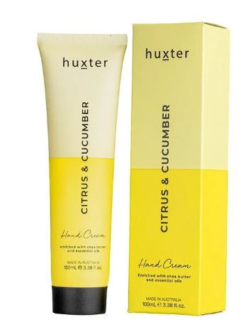 Huxter Hand Cream Duo 100ml - Citrus and Cucumber - Mandi at Home