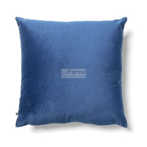 Jolie Velvet Cushion Blue - Mandi at Home