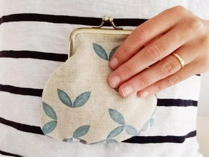 Purse - Petal print - Mandi at Home