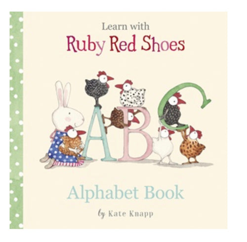 Ruby Red Shoes Alphabet Book - Mandi at Home