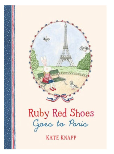 Ruby Red Shoes Goes To Paris - Mandi at Home