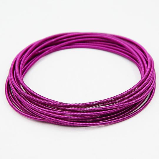 RAINBOW SPRING BRACELETS - MAGENTA - Mandi at Home