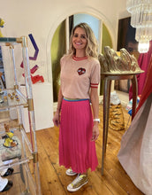 Load image into Gallery viewer, Bec Pleated Skirt - Hot Pink - Mandi at Home
