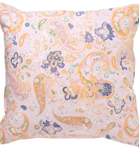 PAISLEY COTTON EURO SHAM - Single Euro - Mandi at Home