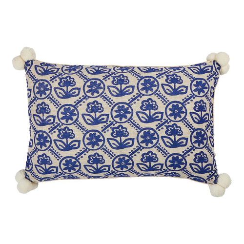 Primula Yves Klein Blue Cushion - 60 x 40cm - Mandi at Home