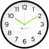 Load image into Gallery viewer, Neon Black Clock - Mandi at Home