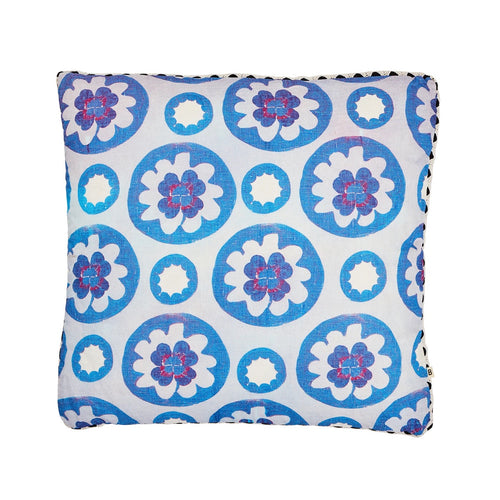Clover Blue Cushion by Bonnie & Neil - Mandi at Home