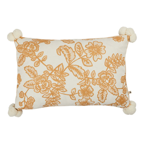 Bonnie & Neil Flora Wheat Cushion - 60X40cm - Mandi at Home