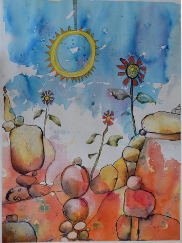 Let the sun shine in - Original - Gillian Roulston - Mandi at Home