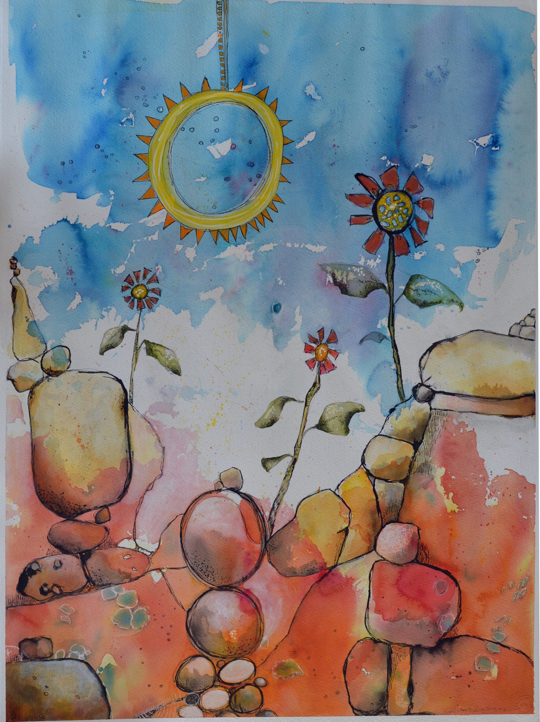 Let the sun shine in -SOLD- Please Contact us to Commission - Mandi at Home