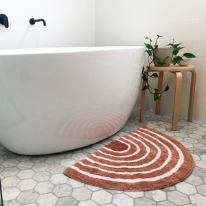 Natural Rainbow Bath Mat - Mandi at Home