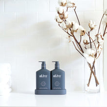 Load image into Gallery viewer, Wash and Lotion Duo + Tray - Coconut and Wild Orange - al.ive body - Mandi at Home