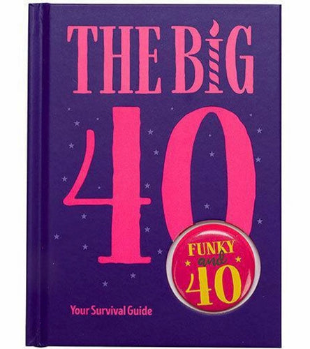 The Big 40 - Birthday Book - Mandi at Home