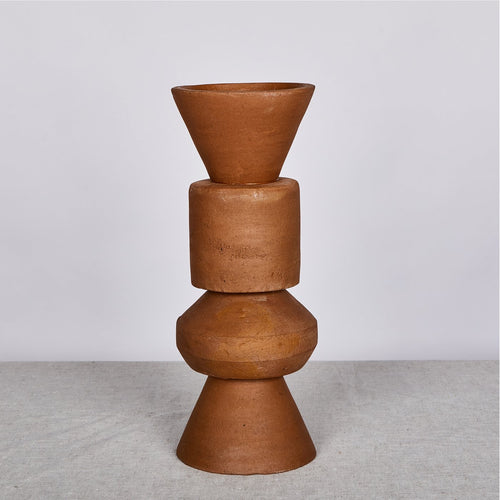 Terracotta 40cm Vase - Bonnie & Neil - Pick up only - Mandi at Home