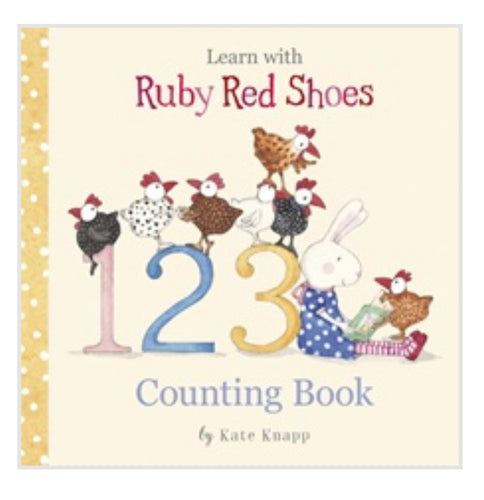 Ruby Red shoes counting Book - Mandi at Home