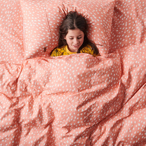 Speckle Candy Cotton Quilt Cover-Single - Mandi at Home