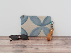 Clutch bag - Petal print - Mandi at Home