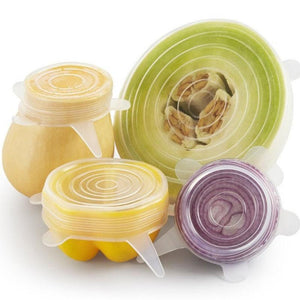 Reusable Strech Lids -  Set of 6 - Mandi at Home