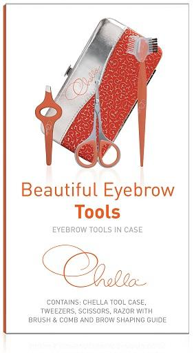 Beautiful Eyebrow Tools In Case