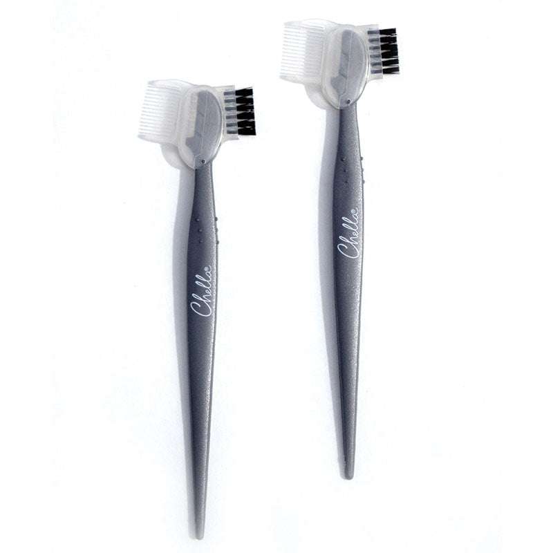 Razor with Brush & Comb Cap 2pk Boxed