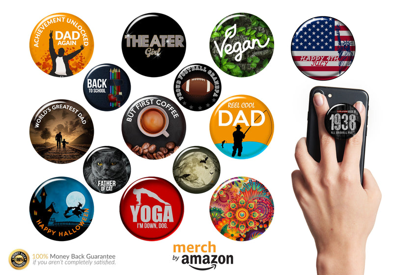 Shirteys Merch By Amazon Popsocket Grip With Keyword Research
