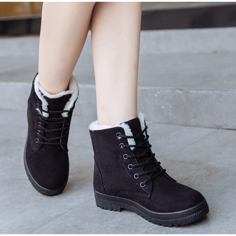 Lace-up Ankle Boots Woman