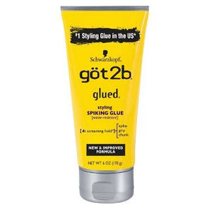 Got2b Glued Styling Spiking Hair Glue - 6oz
