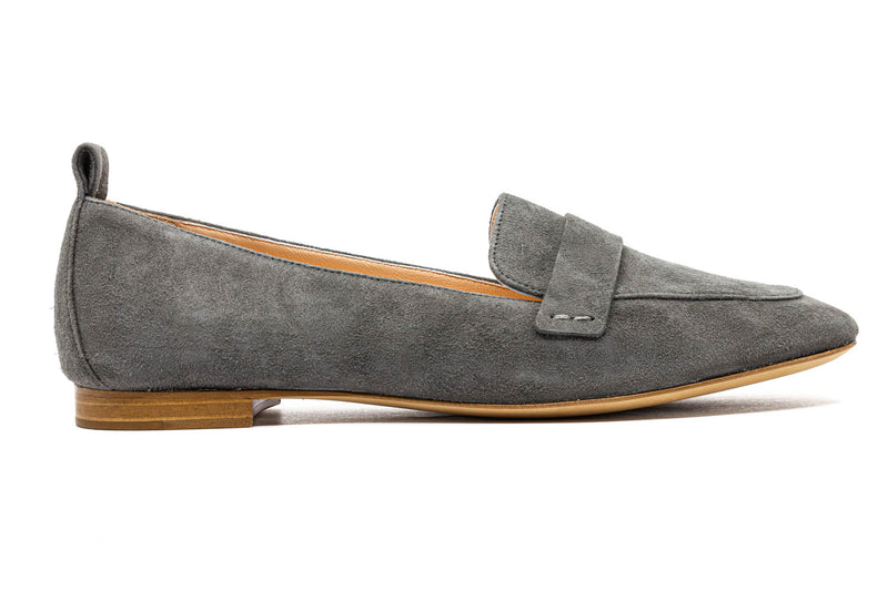 Flats 7745 camoscio dark grey