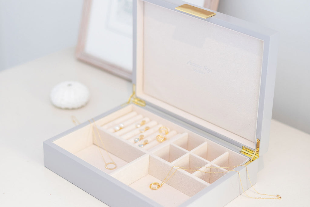 Large Jewellery Boxes with Gold