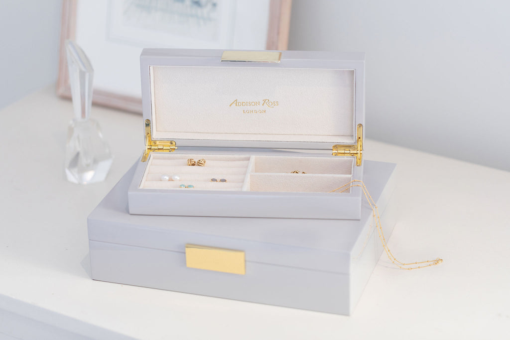 Small Jewellery Boxes with Gold