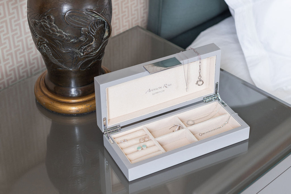 Small Jewellery Boxes with Silver