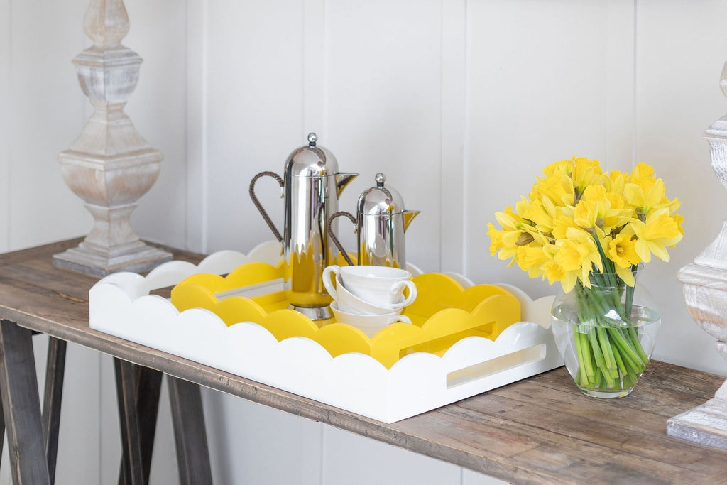 Scalloped Trays