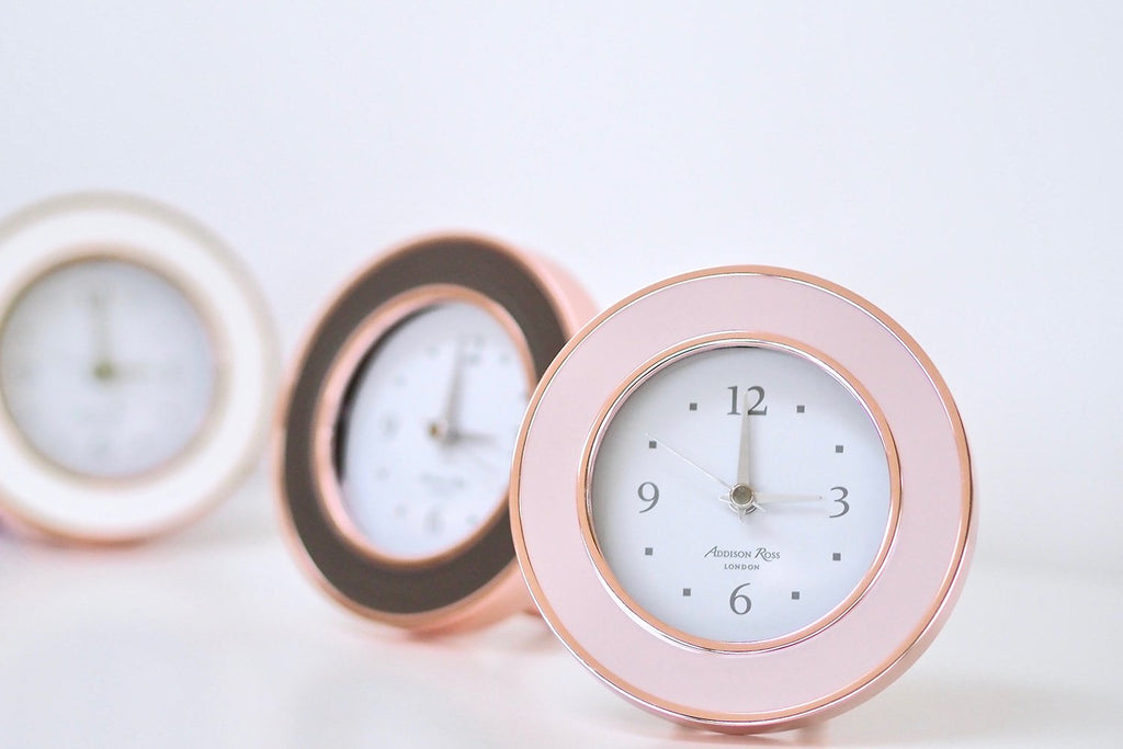Rose Gold Clocks