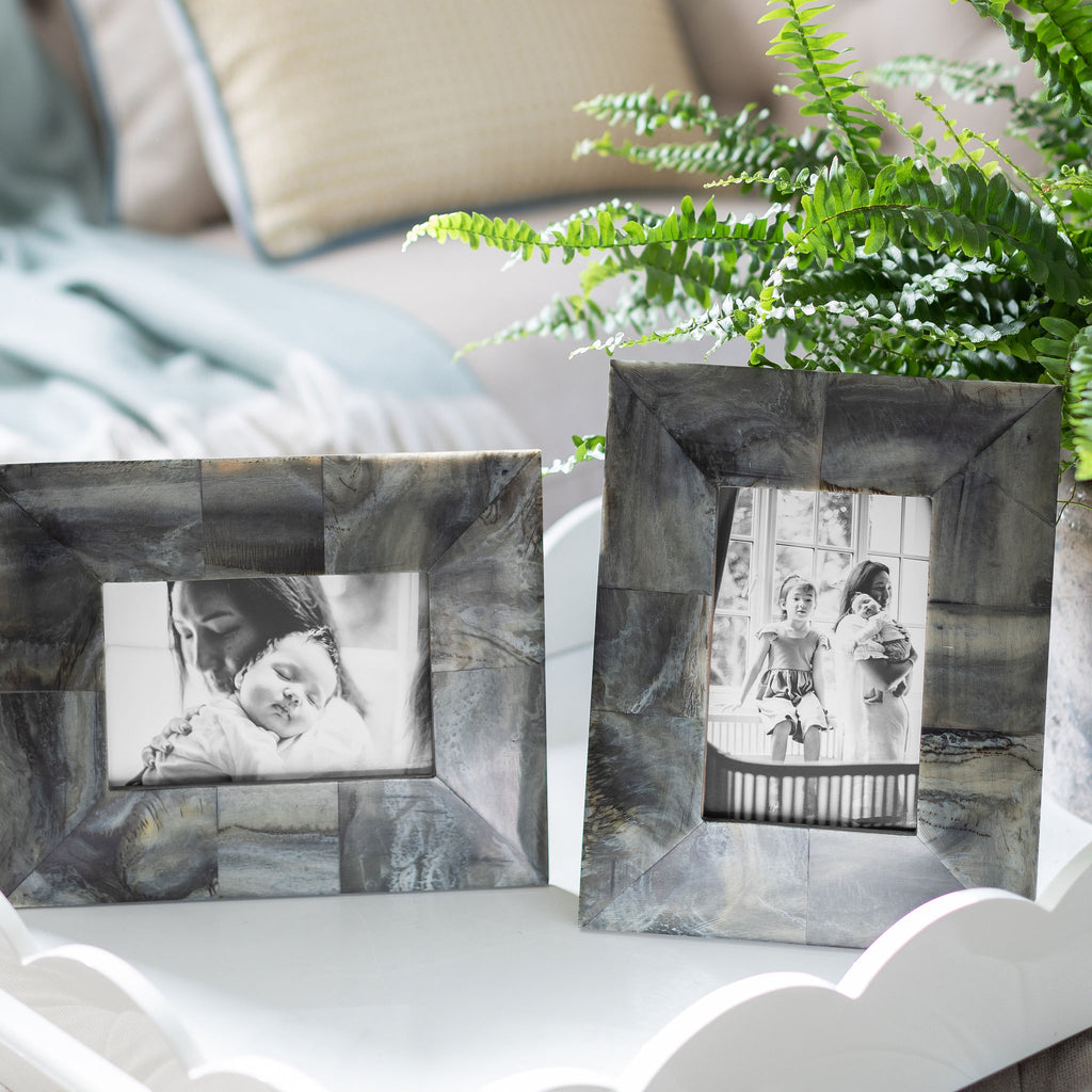 Faux Horn Photo Frame